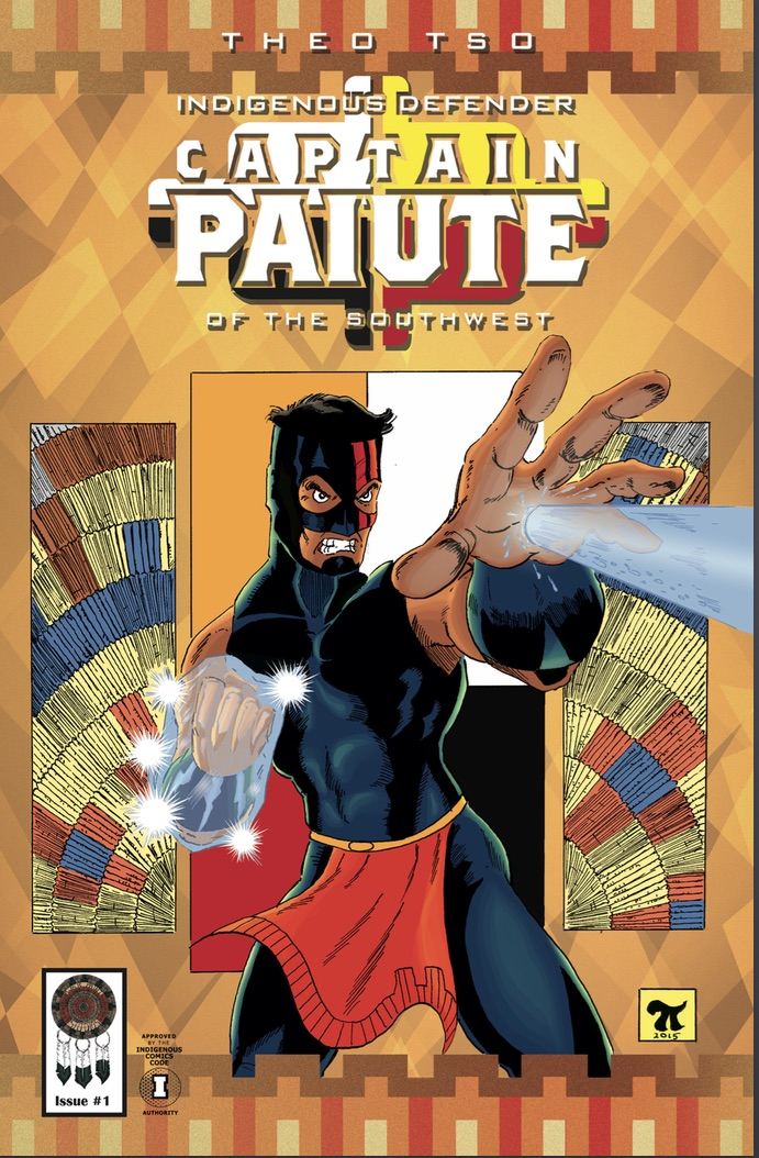 Captain Paiute Issue #1 Now Available!